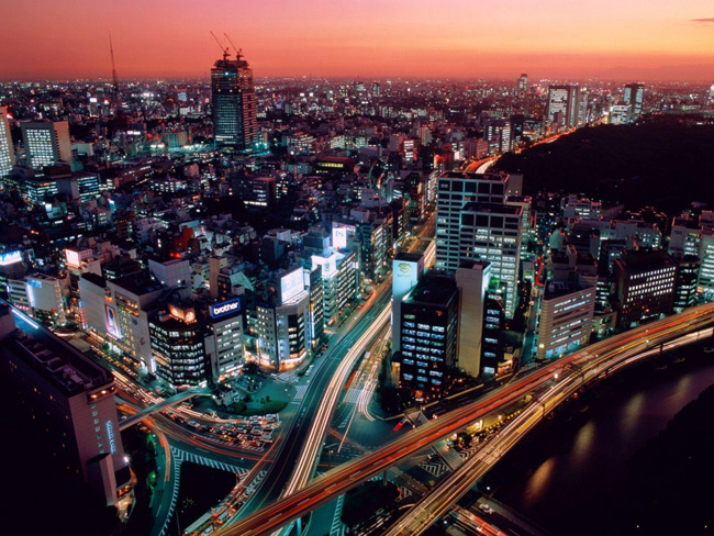Самые большие города. Токио