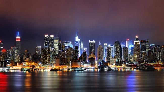 Самые большие города. Нью-Йорк