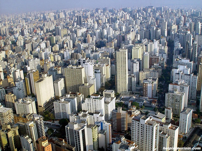 Самые большие города. Сан-Паулу