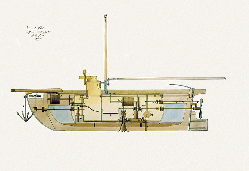 10 самых первых подводных лодок.