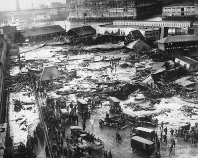 Бостон взрыв алкоголя на заводе
