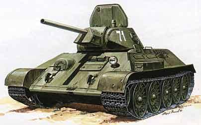 Средний танк T-34