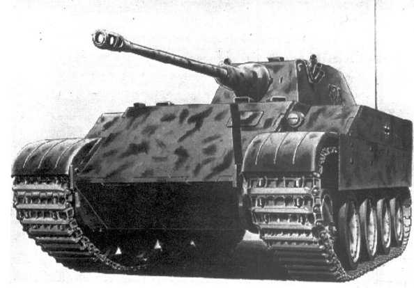 Лёгкий танк VK 1602 Leopard