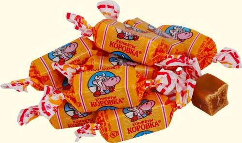 конфеты с малышом