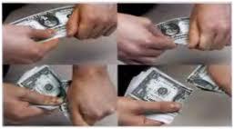 Деньги пополам разрывала