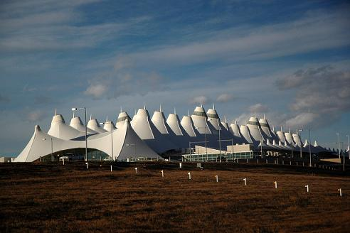 Международный аэропорт Денвера. США