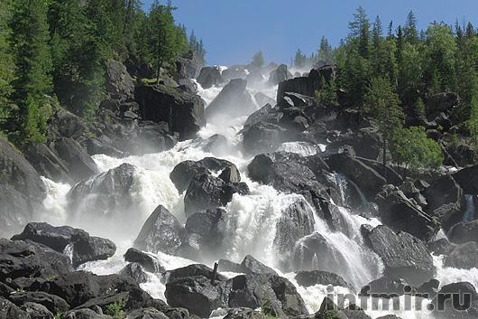 Тальниковский водопад