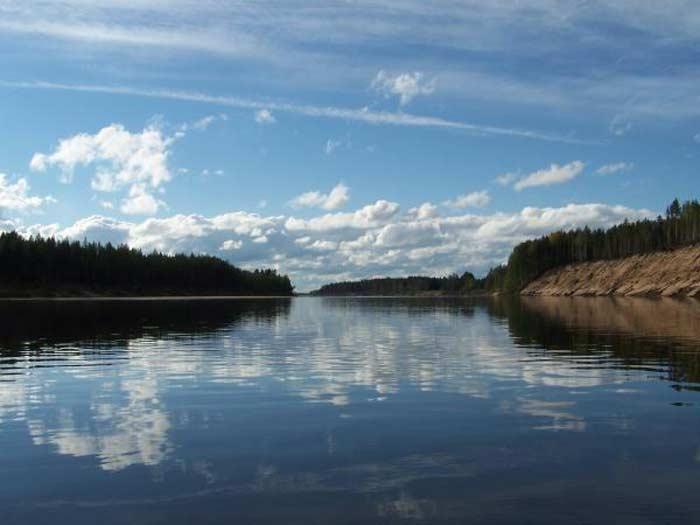 Река Северная Двина