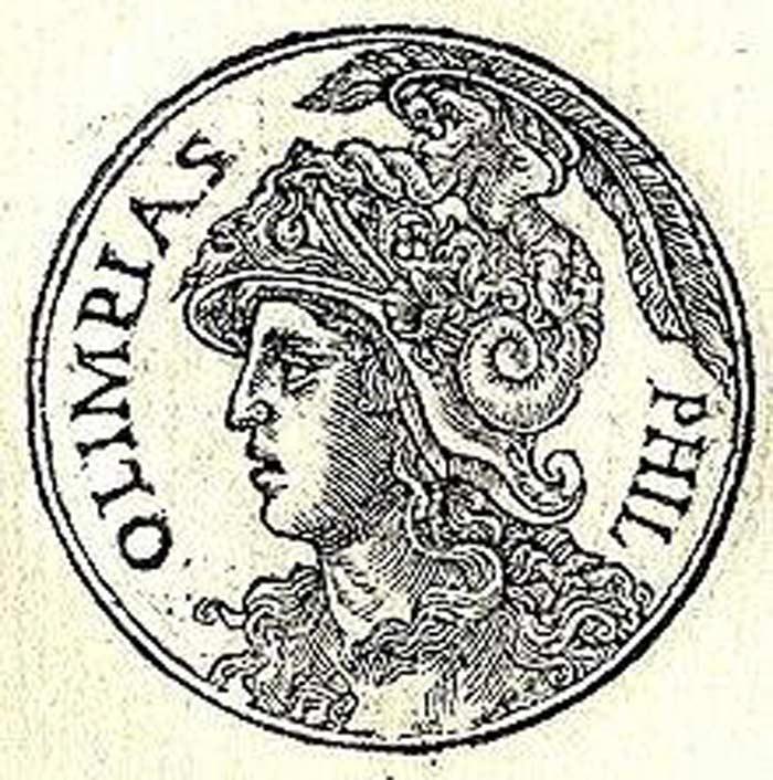 Олимпиада эпирская царица