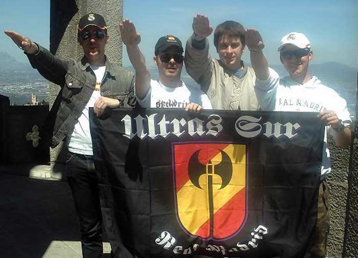 Фанаты мадридского «Реала» «Ультрас Сур»