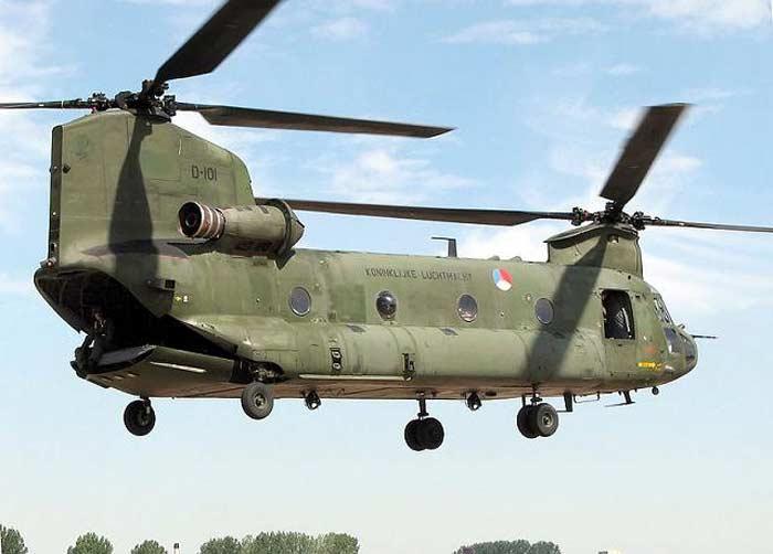 Вертолет Boeing MH-47E