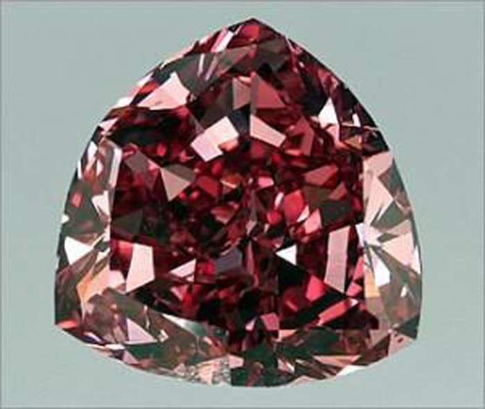 Brilliant «Moussaieff Red Diamond»