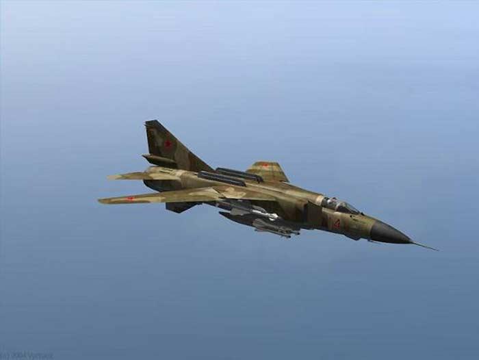 Самолет МиГ-23