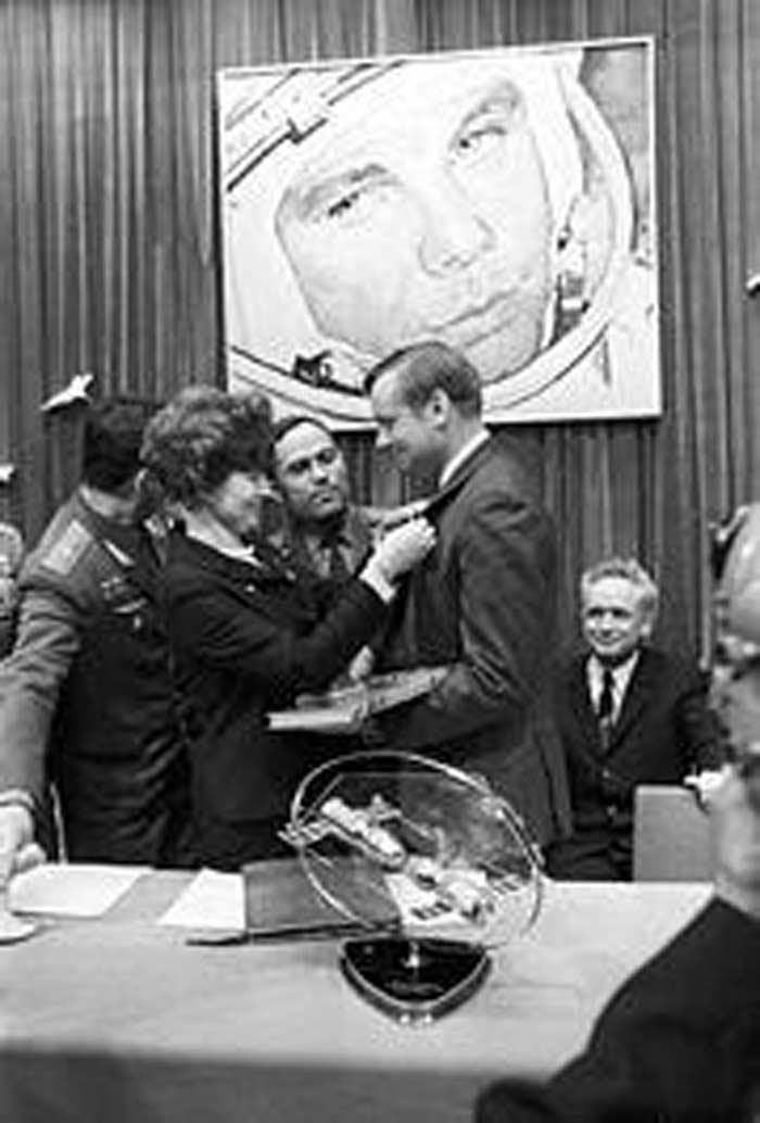 Нил Армстронг, СССР