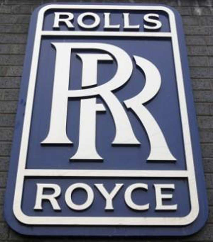 Эмблема Rolls-Royce Limited