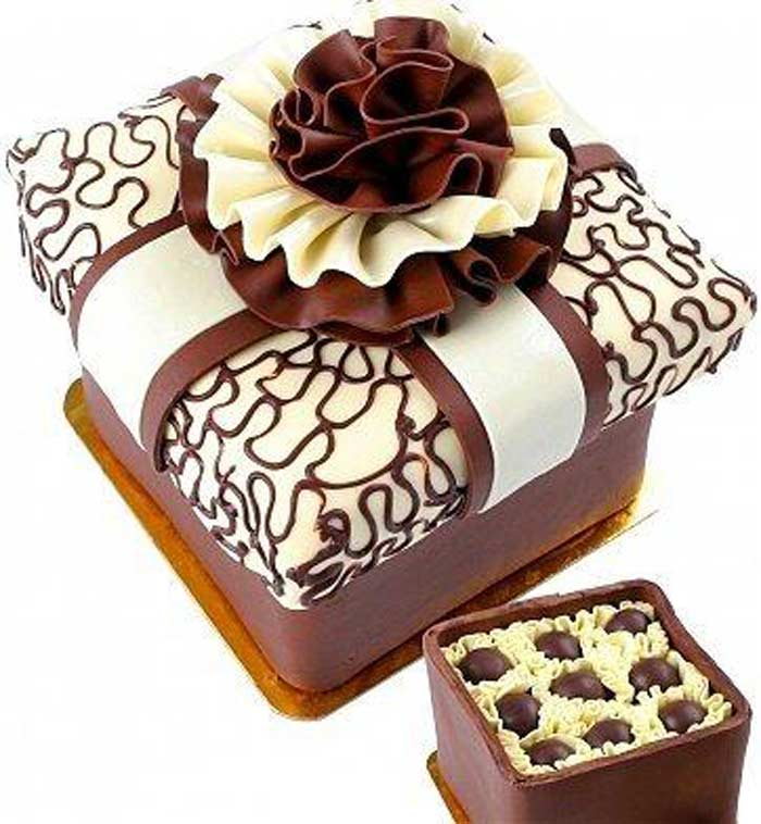 Конфеты Chocolate Truffle Box Cakeand  $ 180