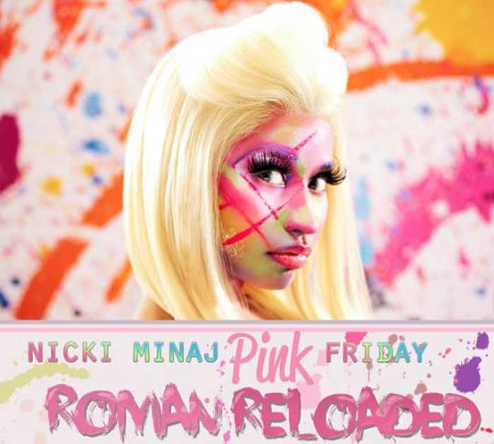 Ники Минаж «Pink Friday: Roman Reloaded»