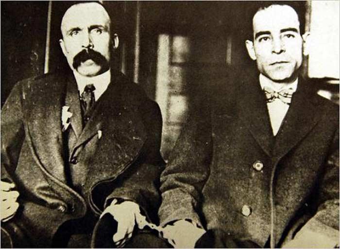 Никола Сакко и Бартоломео Ванцетти