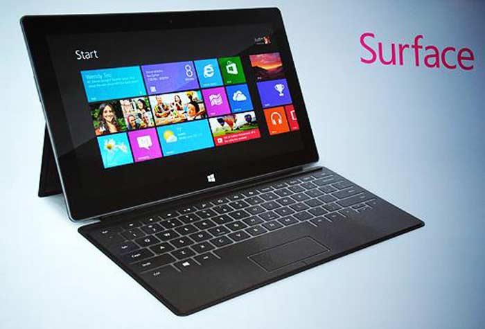 Microsoft Surface — планшетный компьютер от Microsoft