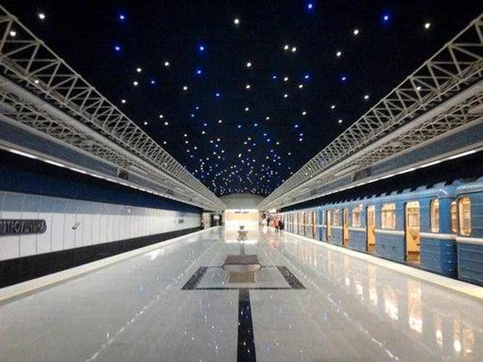 Станция метро  «Петровщина», Минск