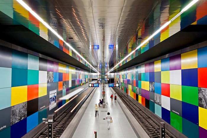 Станция метро  «Георг-Браухле-Ринг», Мюнхен