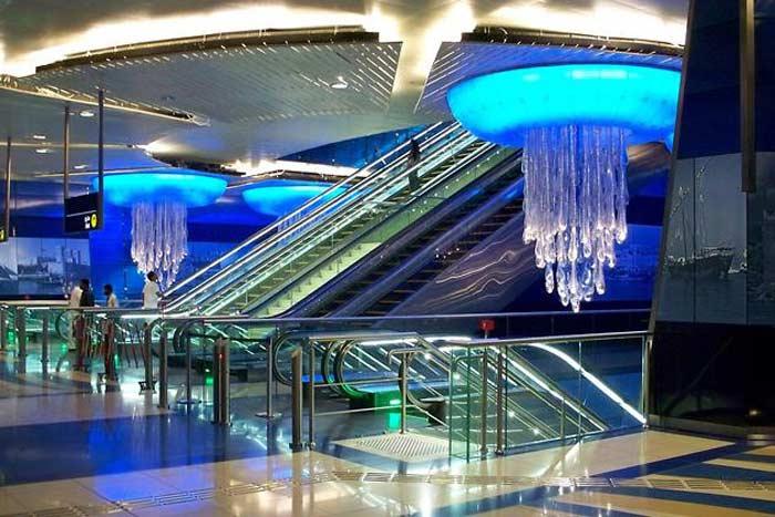 Станция эмирата Дубаи