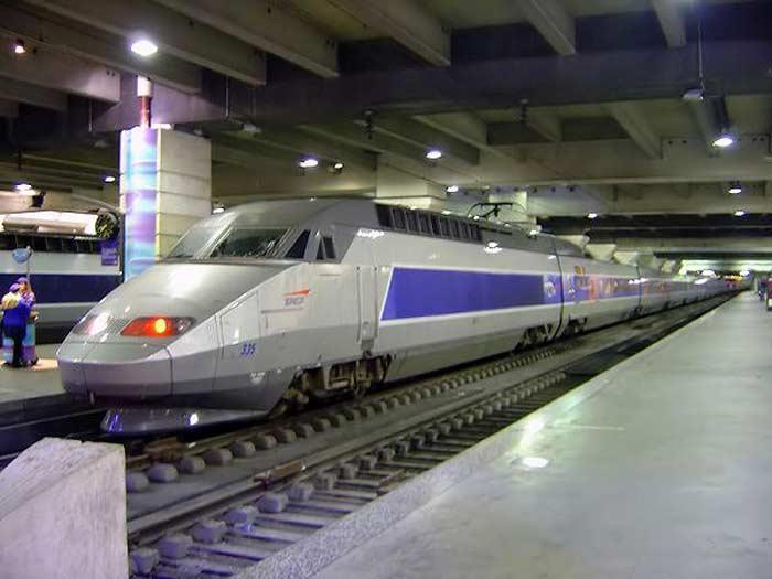 Поезд TGV Reseau, Франция, 380 км/ч