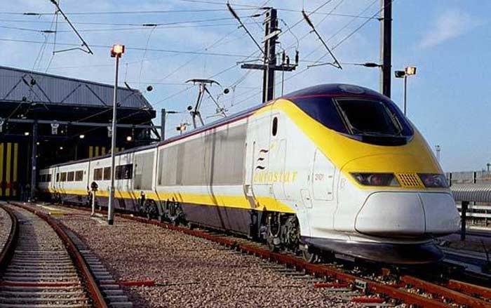 Поезд Eurostar, Великобритания, 300 км/час