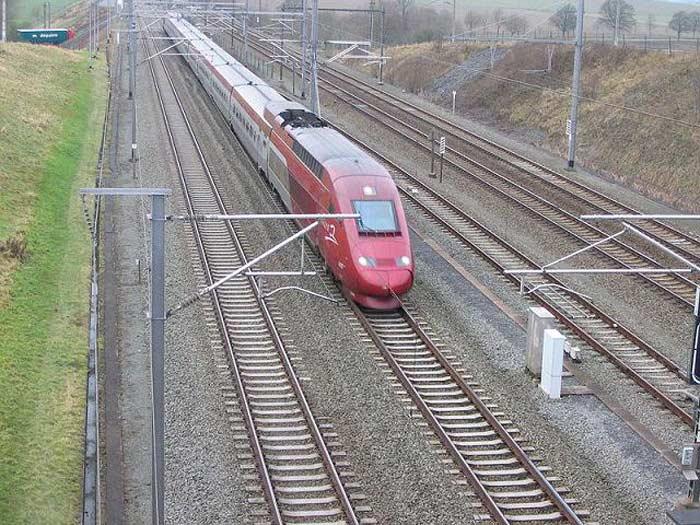 Поезд HSL 1, Бельгия, 300 км/ч