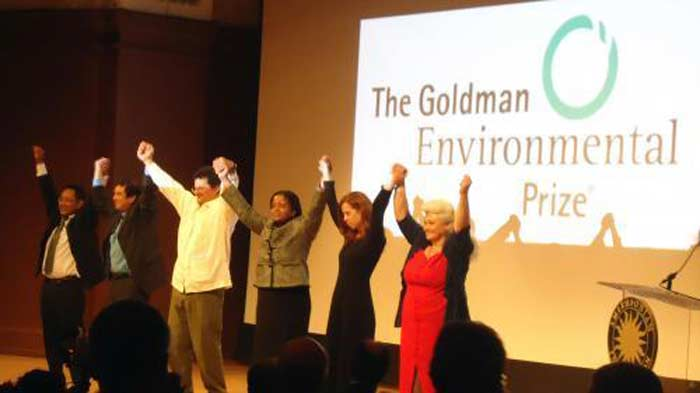 Голдмановская премия (The Goldman Environmental Prize)