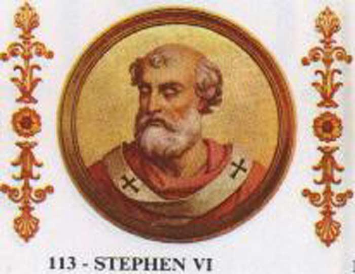 Папа Римский Стефан VI