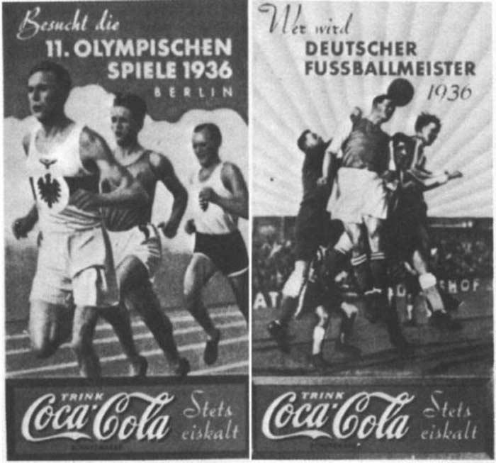 кокак кола спонсор олимпиады в германии