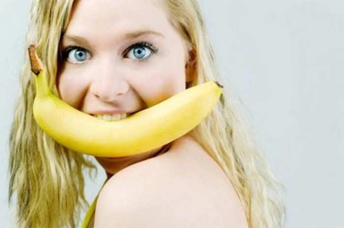 Конкурс поедания бананов
