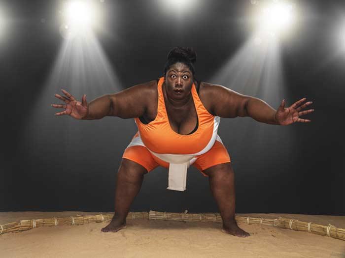 Самая тяжелая спортсменка