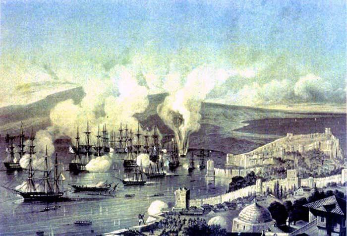 Во время сражения при Синопе