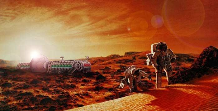 Радиация на Марсе