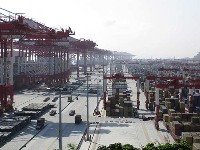 Порт Шанхай (Shanghai) – Китай
