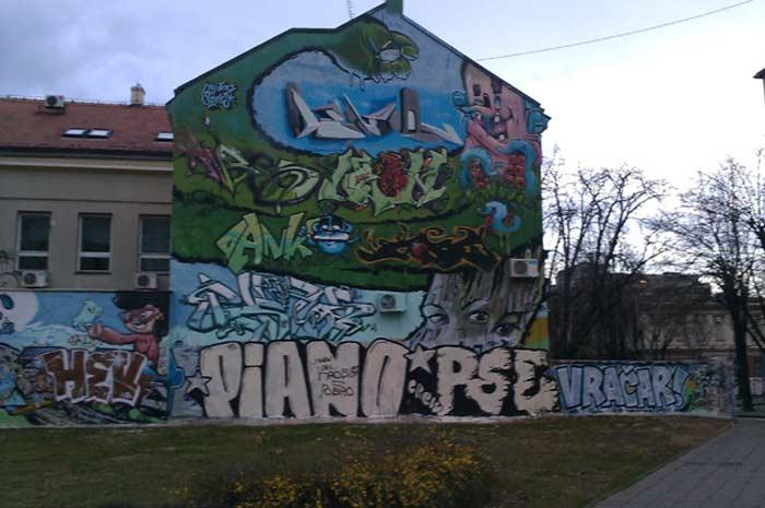 Граффити Белграда  Пиано