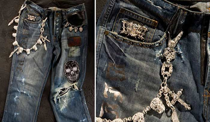 Джинсы Dussault Apparel's Trashed Denim