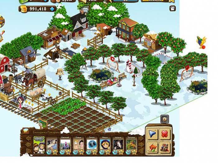 «Новые земли» - игра в одноклассниках