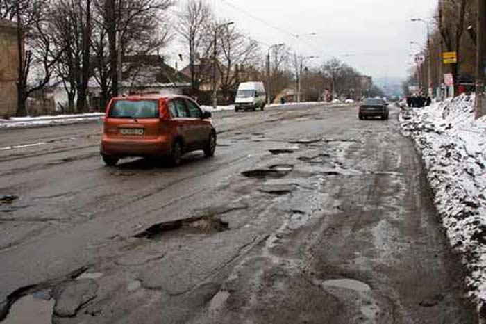 Украина дороги