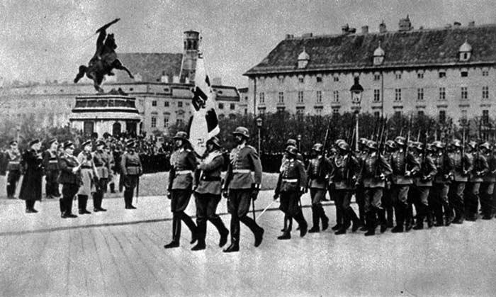 Аннексия Австрии Германией – 1938 г.
