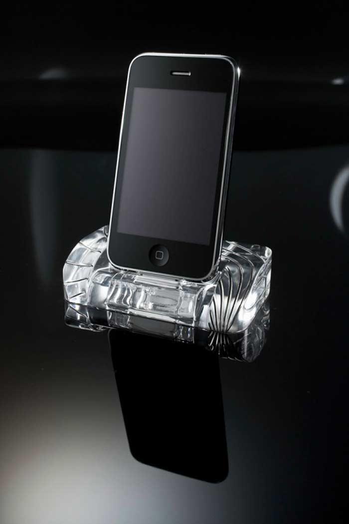 Докстанция для iPhone 4 Crystal Docking Station $500