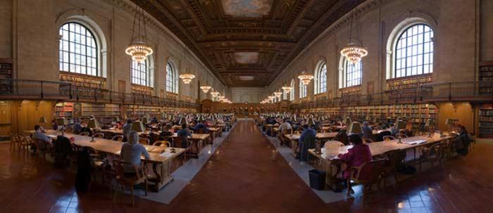 Нью-Йоркская публичная библиотека (NewYork Public Library)