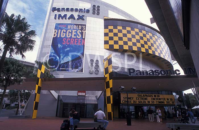 Стационарный экран -  «Panasonic IMAX» (Австралия, Сидней)