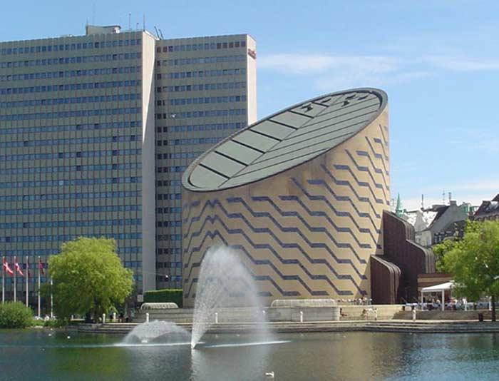 Купольный экран -  «IMAX Tycho Brahe» (Дания)