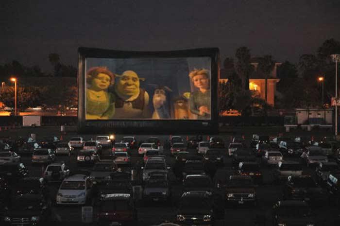 Кинотеатр на открытом воздухе - «Shankweiler's Theater» (Орфилд, США)