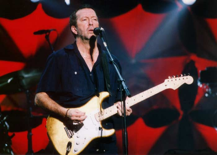 Gold Leaf Stratocaster Эрика Клэптона