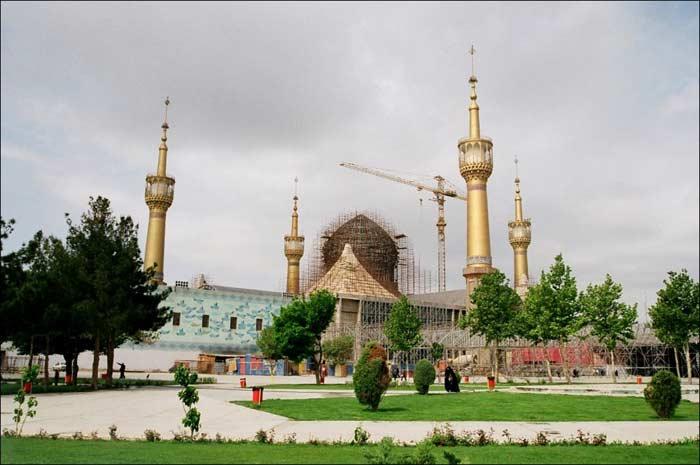 Мавзолей Хомейни. Иран