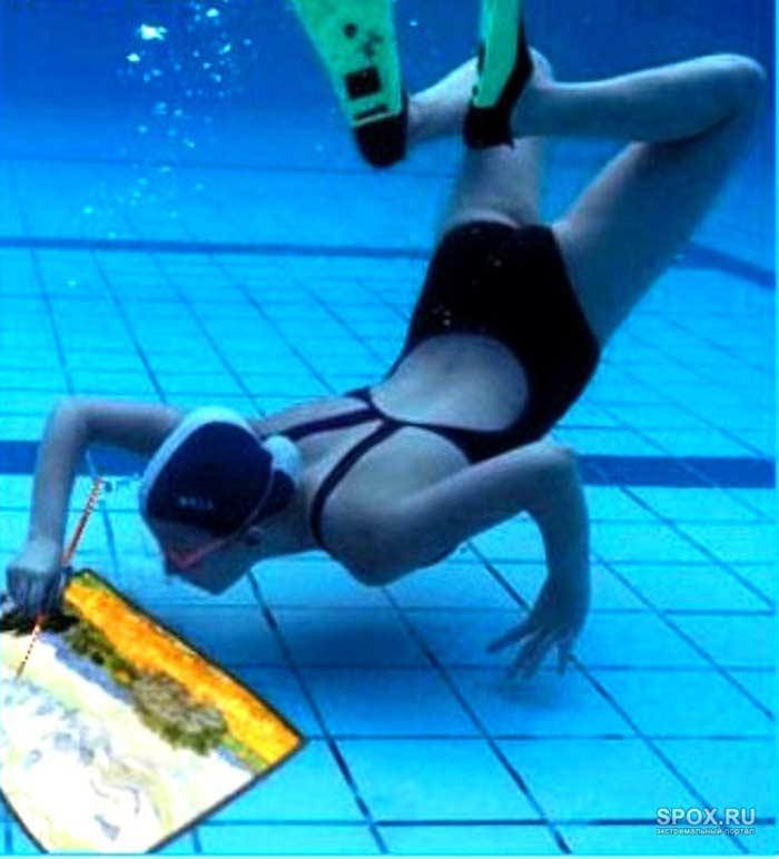 Художники из Украины. Рисование под водой